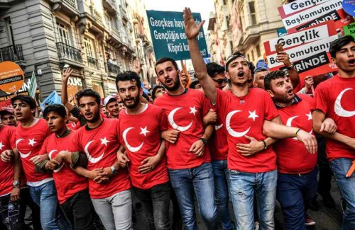Euforia pemilu Turki sudah sangat terasa (Foto: AFP).