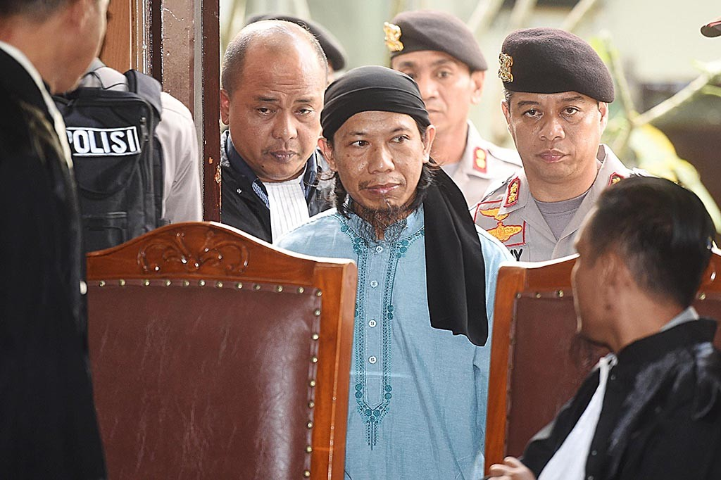 Pemimpin JAD Aman Abdurrahman Divonis Mati