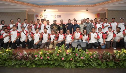 Menpora lepas timnas Baseball Indonesia yang akan mengikuti