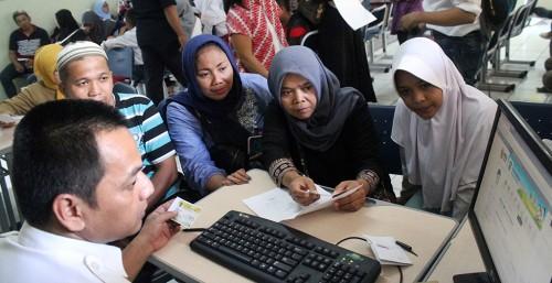 Suasana PPDB di salah satu sekolah di Bekasi, ANT/Risky