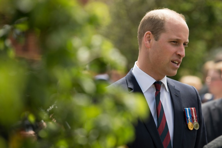 Britain's Prince William, Duke of Cambridge and second in line to the throne, will be the first member of the royal family to pay an official visit to both Israel and the Palestinian territories. (Photo:AFP/Pool/Oli Scarff)