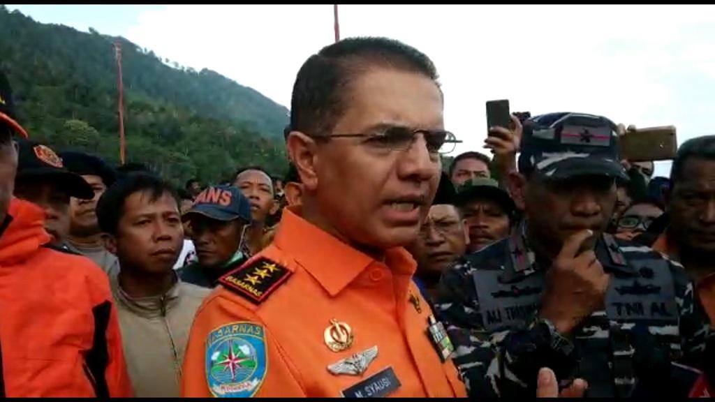 Kepala Basarnas, Marsekal Medya (TNI) Muhamad Syaugi. Foto: Farida Noris/Medcom.id