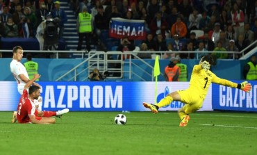 Gol Telat Shaqiri Bantu Swiss Taklukkan Serbia