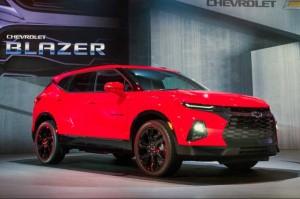 Chevrolet Blazer 2019 Tampil Sporty dan Elegan