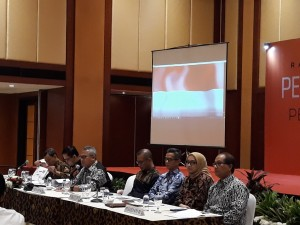 KPU Gelar Rapat Rekapitulasi Daftar Pemilih Sementara Nasional