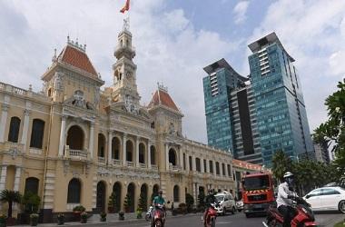 Kota Ho Chi Minh di Vietnam. (Foto: AFP)