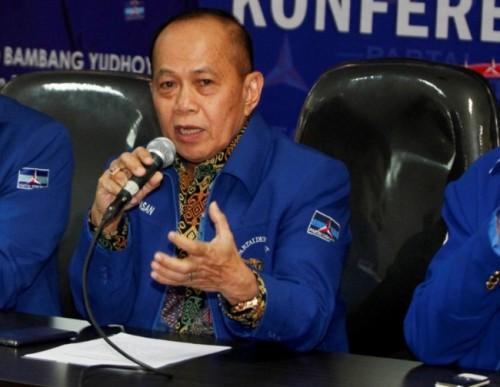 Wakil Ketua Partai Demokrat, Syarif Hasan - MI/Rommy Pujianto.