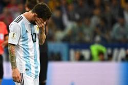 Argentina Kalah, Fan Messi Minggat dan Tulis Pesan Bunuh Diri