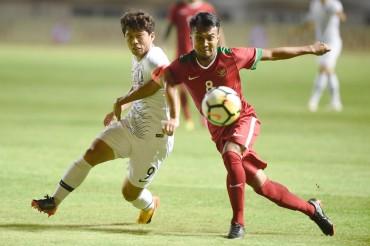 Dramatis, Timnas Indonesia U-23 Kalah Tipis dari Korea Selatan
