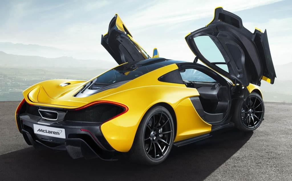 McLaren P1 hybrid dijual sangat terbatas. McLaren