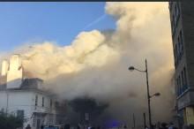 Kebakaran Landa Pub London saat Nobar Piala Dunia