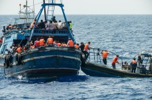 Lebih dari 560 Imigran Diselamatkan di Mediterania