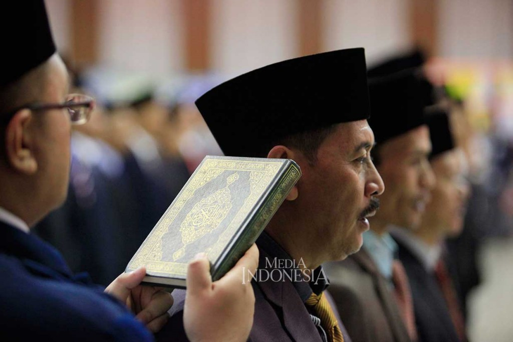 130 Anggota KPU Kabupaten/Kota Dilantik