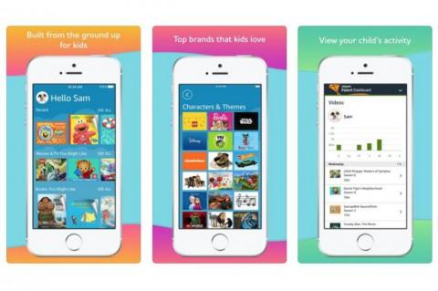 Amazon Bawa Aplikasi Ramah Anak ke iOS