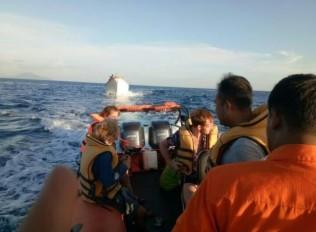 Lanal Sabang Evakuasi 3 Turis di Pulau Rondo