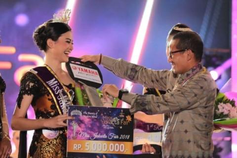Raissa Terpilih Menjadi Miss Jakarta Fair