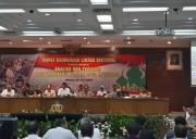 Kapolri Bersama Jajaran Menteri Gelar Rapat Evaluasi Mudik