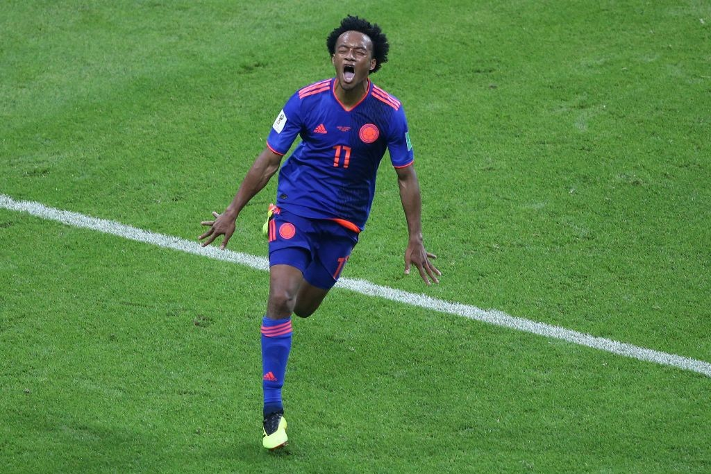 Juan Cuadrado (AFP PHOTO / Roman Kruchinin)