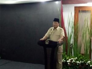 Prabowo Kritik Kesenjangan di Indonesia