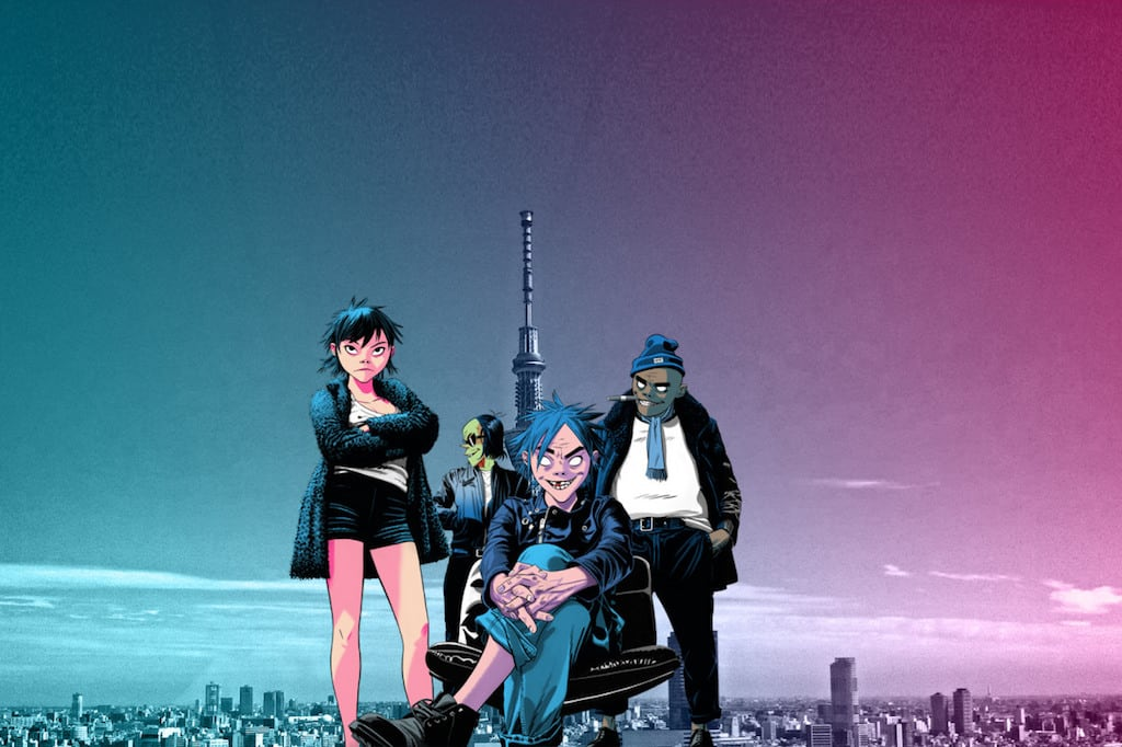 Gorillaz (Foto: Boiler Room TV)