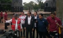 Jokowi Tinjau Venue Asian Games
