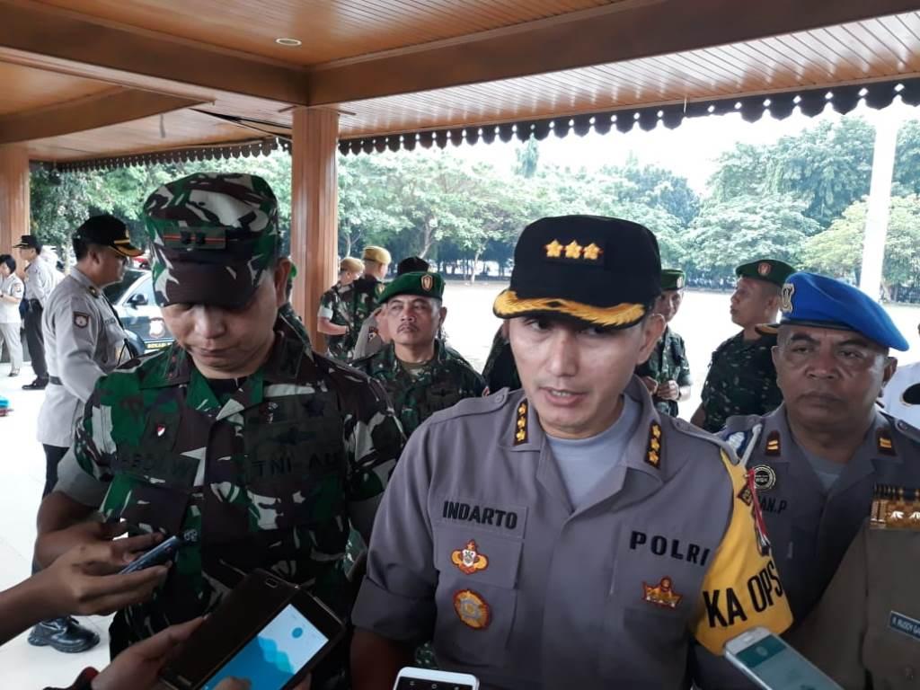 Kapolres Metro Bekasi Kota Kombes Indarto. (Foto: Antonio)