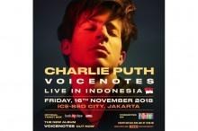 Charlie Puth akan Konser untuk Pertama Kali di Indonesia