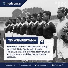 Indonesia Wakil Pertama Asia di Piala Dunia