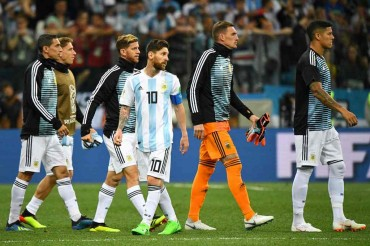 Argentina Sudah Putus Asa