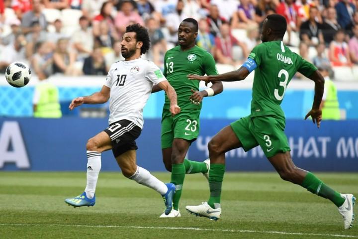 Babak I: Diwarnai Dua Penalti, Arab Saudi Tahan Imbang Mesir