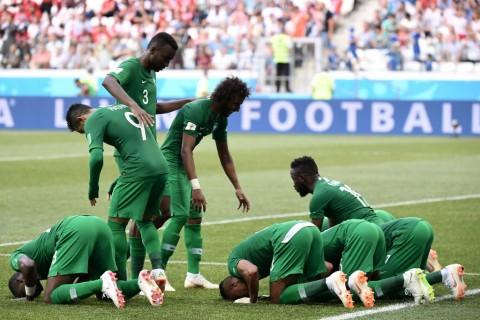 Gol Al Dawsari di Detik Akhir Antar Arab Saudi Kalahkan Mesir