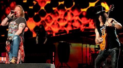 Tiket Prajual Guns N' Roses di Jakarta Dibuka Mulai Rp250 ribu