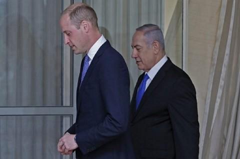 Pangeran William ke Israel Tegaskan Solusi Dua Negara