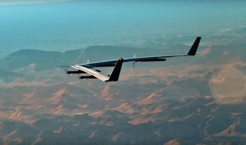 Facebook Setop Proyek Drone Internet