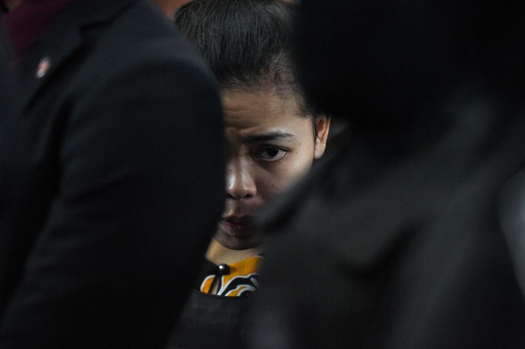 Siti Aisyah. (Foto: AFP)