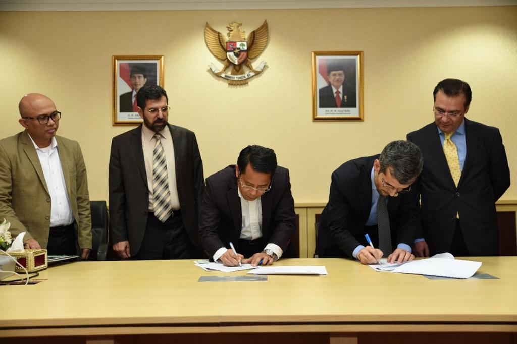 Penandatanganan MoU antara Indonesia dan Afganistan di bidang pengembangan pendidikan Islam, Humas Kemenag.