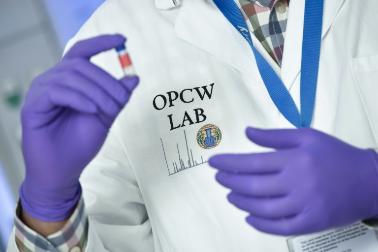 Western powers are lobbying frantically to win support for moves to empower the world's chemical weapons watchdog (OPCW). (Photo:AFP/John Thys)