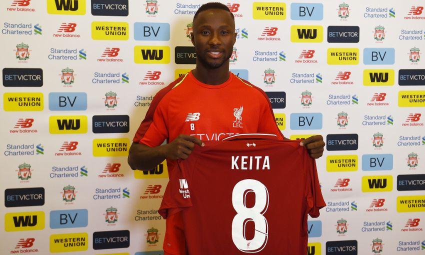 Naby Keita (Foto: Liverpoolfc.com)