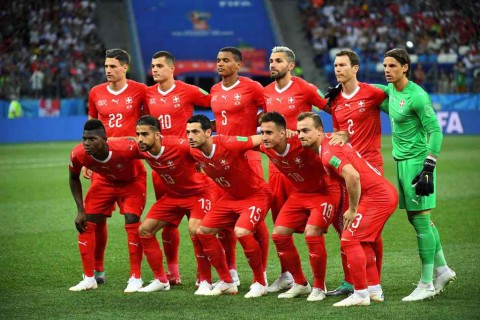 Swiss Temani Brasil Lolos 16 Besar Piala Dunia 2018