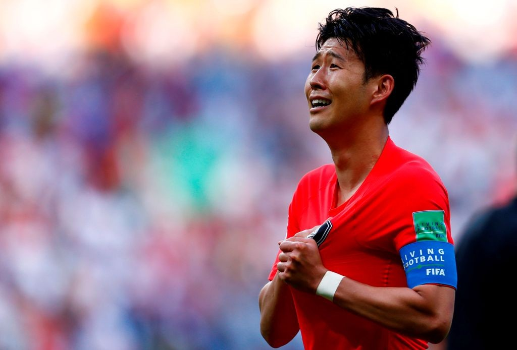 Son Heung-Min (Foto: AFP PHOTO / BENJAMIN CREMEL)