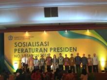Sri Mulyani Sosialisasi Aturan Pengadaan Barang dan Jasa