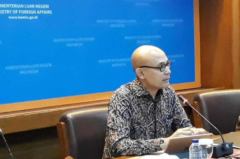 Juru Bicara Kementerian Luar Negeri RI Arrmanatha Nasir (Foto: Marcheilla Ariesta).