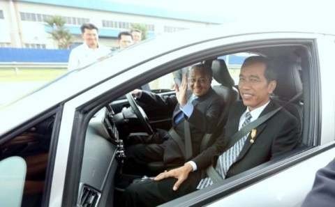 Jokowi Jemput Mahathir di Halim Perdanakusuma