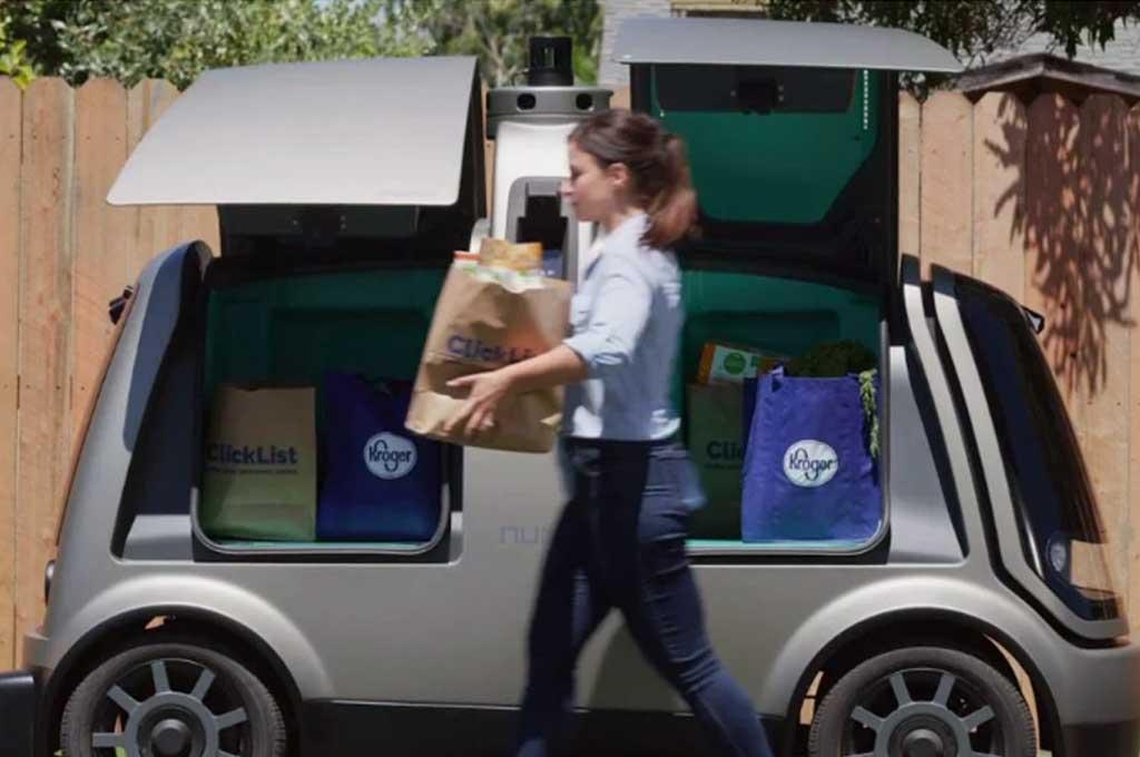 Kroger dan Nuro luncurkan kemitraan layanan antar barang mobil otonom. Carscoops