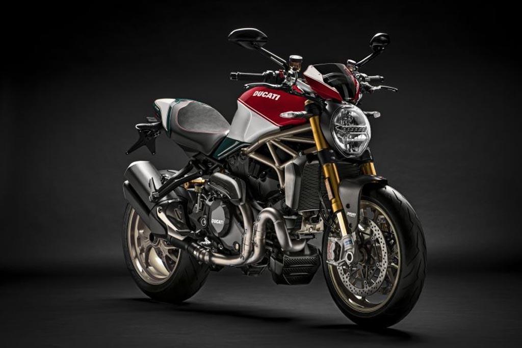 Edisi 25 tahun Ductai Monster 1200, cuma 500 unit. Ducati