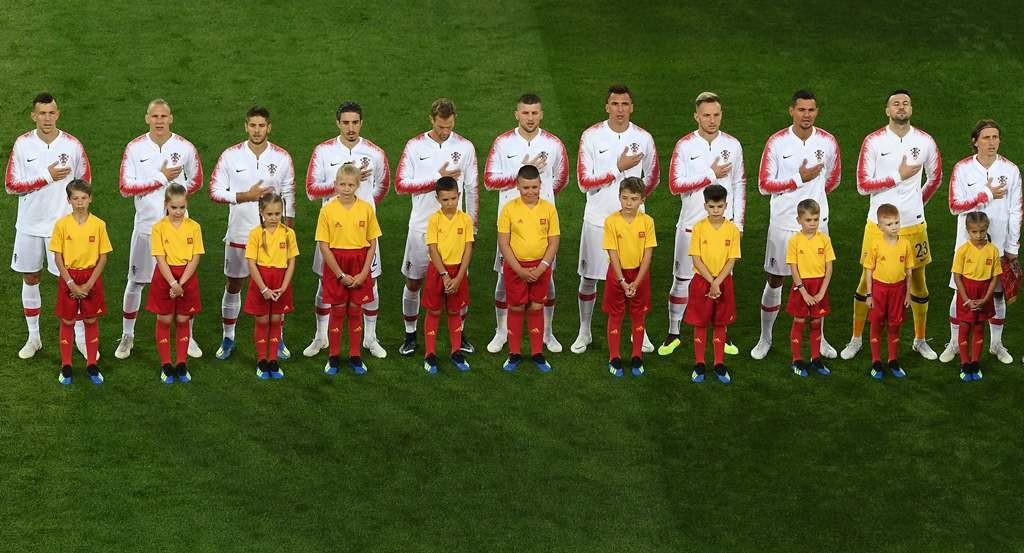 Skuat Kroasia. (Foto: AFP/Attila Kisbenedek)