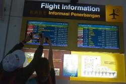 Penumpang Domestik Bandara Bali Memilih Bus Gratis