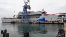 KRI Teluk Lada 521 Perkuat Armada TNI AL