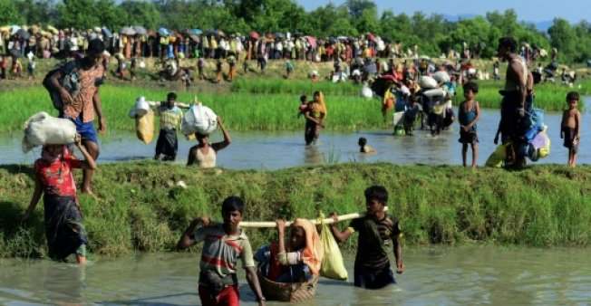 The Trafficking in Persons Report downgraded Myanmar to its worst tier for failing to protect Rohingya Muslims fleeing a military crackdown in Rakhine state. (Photo:AFP/Munir Uz Zaman)