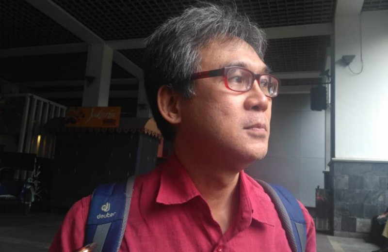 Ketua Tim Bidang Pengelolaan Pesisir TGUPP Marco Kusumawijaya. Foto: Medcom.id/Nur Azizah